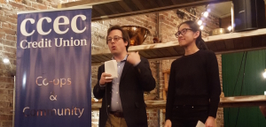 Centre B presentation at Vancouver Soup, March 3, 2016