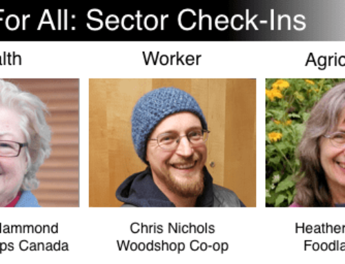Co-op Check-ins – Health & Worker Sectors