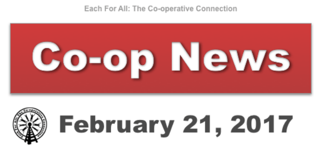 Co-op News for February 21, 2017
