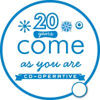 Come As You Are logo
