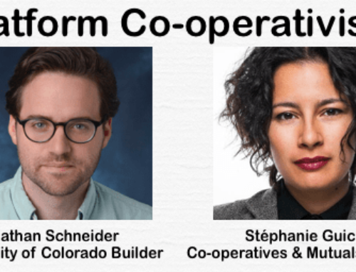 Platform Cooperativism with Nathan Schneider and Stephanie Guico