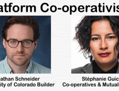 Platform Cooperativism with Nathan Schneider and Stephanie Guico