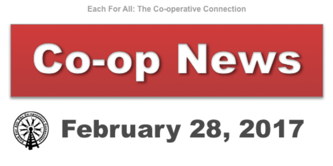 Co-op News for February 28, 2017