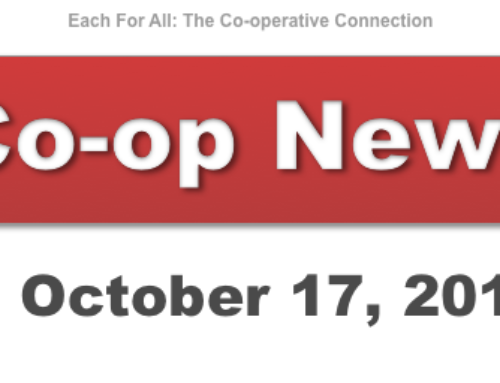 Co-op News for October 17, 2017