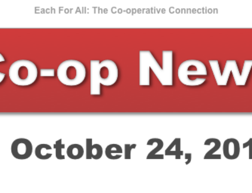 Co-op News for October 24, 2017