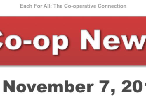 Co-op News for November 7, 2017