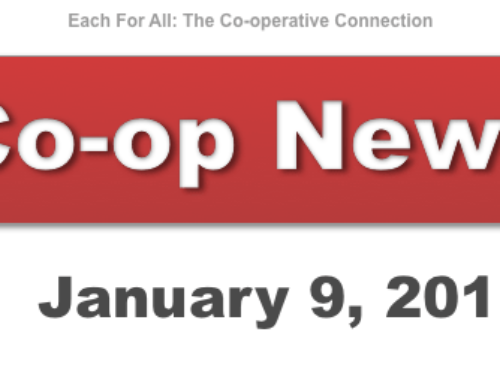 Co-op News for January 9, 2018