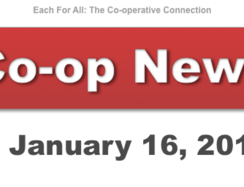 Co-op News for January 16, 2018