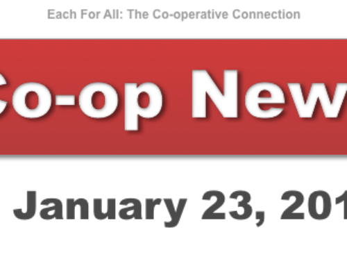 Co-op News for January 23, 2018