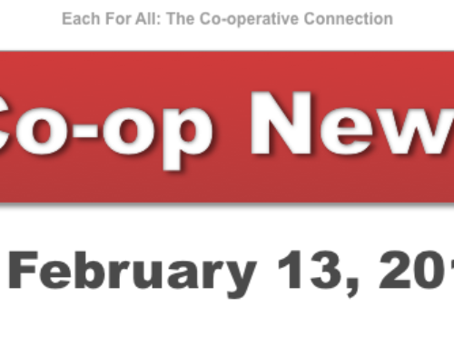 Co-op News for February 13, 2018