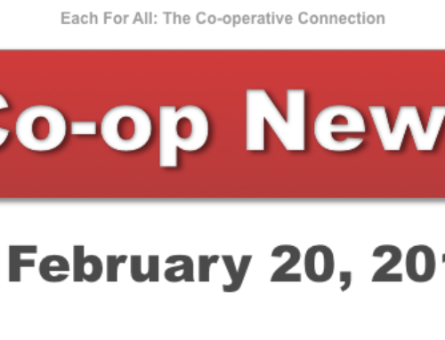 Co-op News for February 20, 2018