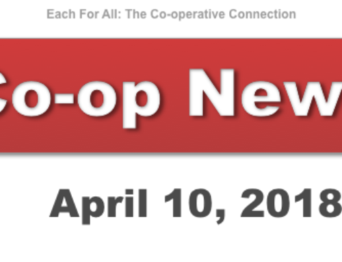 Co-op News for April 10, 2018
