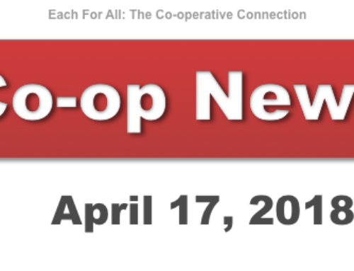 Co-op News for April 17, 2018