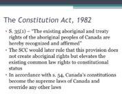 Aboriginal Treaty Rights