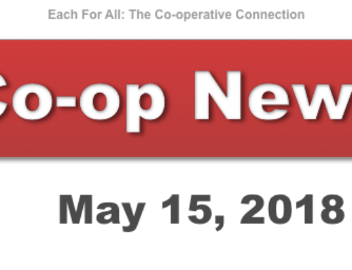 Co-op News for May 15, 2018
