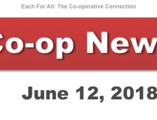 Co-op News for June 12, 2018