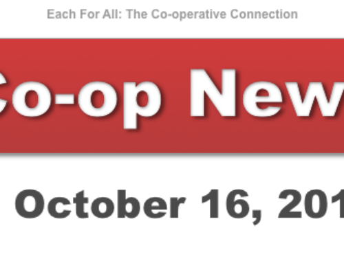 Co-op News for October 16, 2018