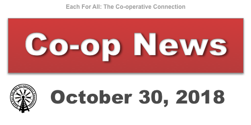 Co-op News for October 30, 2018