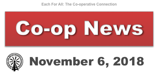 Co-op News for November 6, 2018