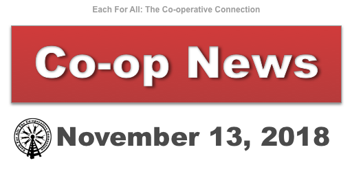 Co-op News for November 13, 2018