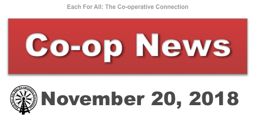 Co-op News for November 20, 2018
