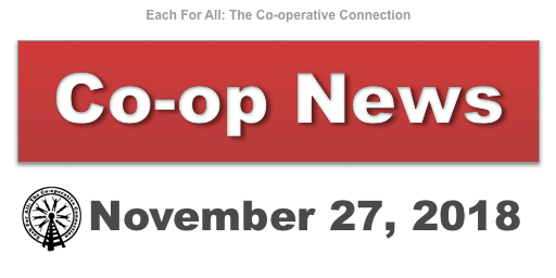 Co-op News for November 27, 2018