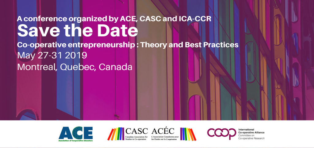 CASC, ACE, and ICA Conference 2019: Co-op Youth, Values, and Branding